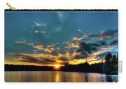 Sunset On Nicks Lake Carry-all Pouch
