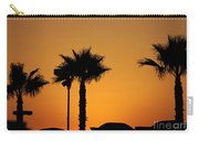 Sunset On Socal Beach Carry-all Pouch