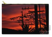 Sunset On Socal Suburb Carry-all Pouch