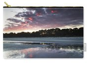 Sunset On South Forest Carry-all Pouch