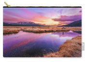 Sunset On Sparks Marsh Carry-all Pouch