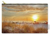 Sunset On St Pete Carry-all Pouch