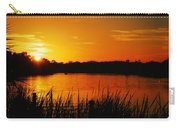 Sunset On The Alafia Carry-all Pouch