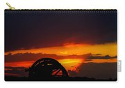 Sunset On The Battlefield Carry-all Pouch