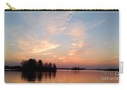 Sunset On The Chippewa Carry-all Pouch