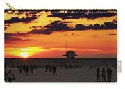 Sunset On The Clearwater Beach Carry-all Pouch