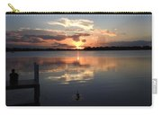 Sunset On The Dock Carry-all Pouch