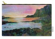 Sunset On The Isle Of Skye Carry-all Pouch