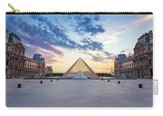 Sunset On The Louvre Carry-all Pouch