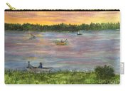 Sunset On The Merrimac River Carry-all Pouch
