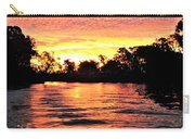 Sunset On The Murray River Carry-all Pouch