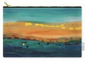 Sunset On The Ocean Carry-all Pouch