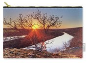 Sunset On The Osage River Carry-all Pouch