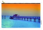 Sunset On The Pier Carry-all Pouch