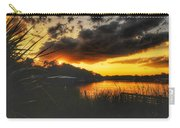 Sunset On The River Carry-all Pouch
