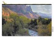 Sunset On The Watchman Carry-all Pouch