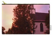 Sunset On The Whitefield Methodist Church Carry-all Pouch