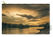 Sunset On The Willamette River Carry-all Pouch