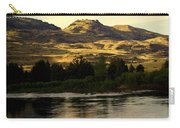 Sunset On The Yellowstone Carry-all Pouch
