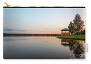 Sunset On Wasilla Lake Carry-all Pouch