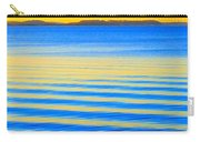 Sunset On Waves Carry-all Pouch