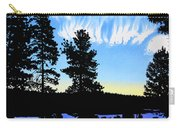 Sunset On Wickiup Carry-all Pouch