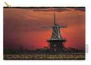 Sunset On Windmill Island Carry-all Pouch