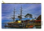 Sunset Over A Tall Ship Carry-all Pouch