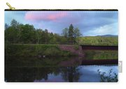 Sunset Over Amoonoosuc River Carry-all Pouch