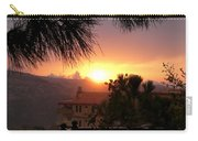 Sunset Over Bcharre, Lebanon Carry-all Pouch