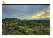 Sunset Over Blue Hill Carry-all Pouch