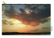 Sunset Over Bridgeport Lake Carry-all Pouch