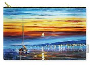Sunset Over California Carry-all Pouch