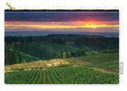 Sunset Over Central Oregon 4 Carry-all Pouch