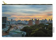 Sunset Over Clarke Quay And Fort Canning Park Carry-all Pouch