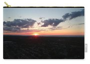 Sunset Over Cleveland Carry-all Pouch
