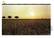 Sunset Over Cornfield Carry-all Pouch