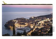 Sunset Over Dubrovnik In Croatia Carry-all Pouch