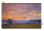 Sunset Over Gratwick Park Carry-all Pouch