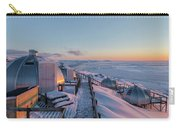 sunset over Igloos - Greenland Carry-all Pouch