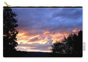 Sunset Over Kalamalka Carry-all Pouch