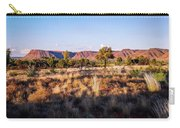 Sun Setting Over Kings Canyon - Northern Territory, Australia Carry-all Pouch