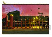 Sunset Over Lambeau Field Carry-all Pouch