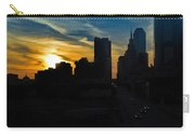 Sunset Over Main Street Carry-all Pouch
