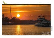 Sunset Over Marina Carry-all Pouch