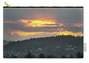 Sunset Over Mount Talbert In Happy Valley Carry-all Pouch