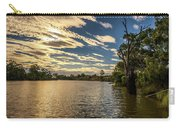 Sunset Over Murray River In Mildura, Australia Carry-all Pouch