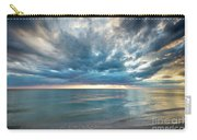 Sunset Over Naples Beach Carry-all Pouch