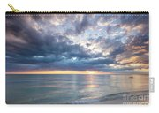 Sunset Over Naples Beach II Carry-all Pouch