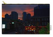 Sunset Over Nashville Carry-all Pouch